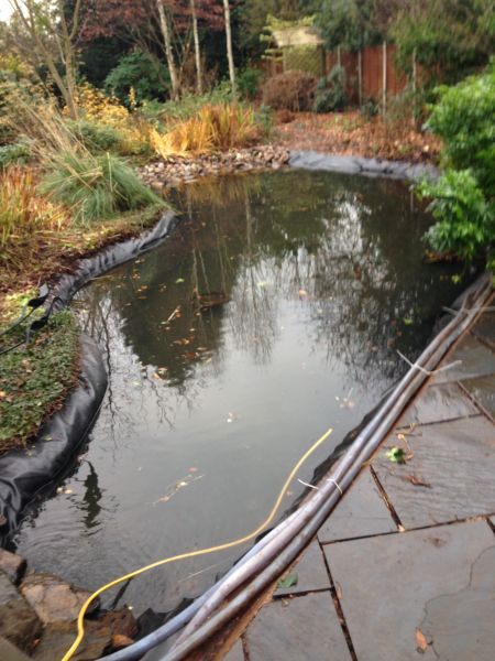 Garden ponds birmingham pond installation birmingham for Garden pond installers
