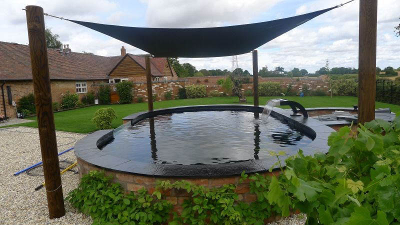 Garden pond installation old wishaw landscapes for Pond installation