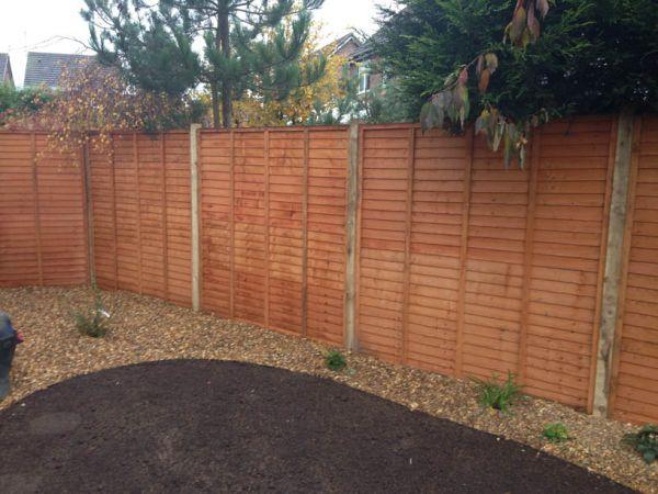 garden fencing Lichfield (1)