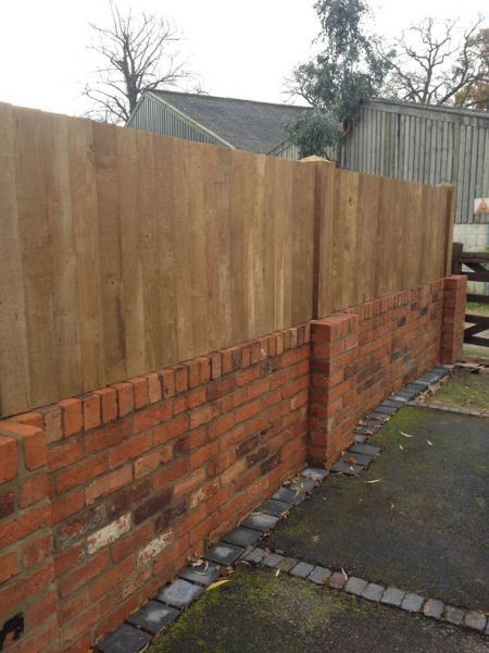 garden fencing Lichfield example 1